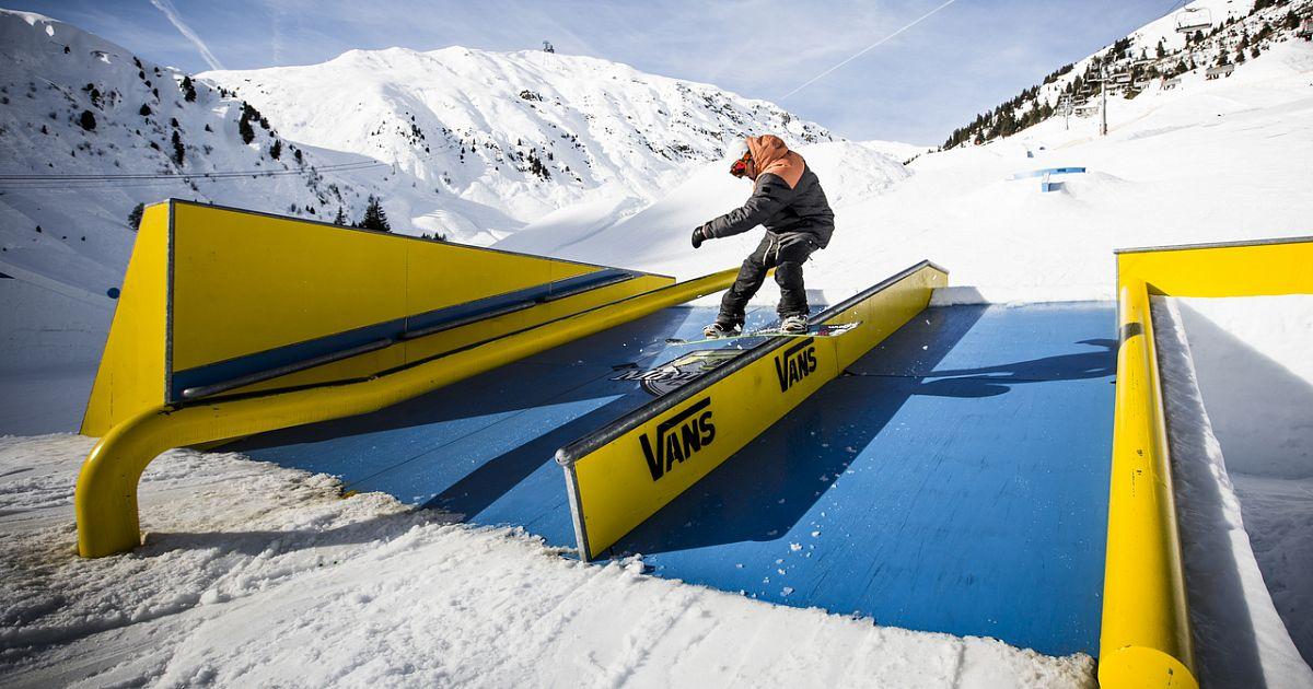 Как сделать парк для сноуборда
